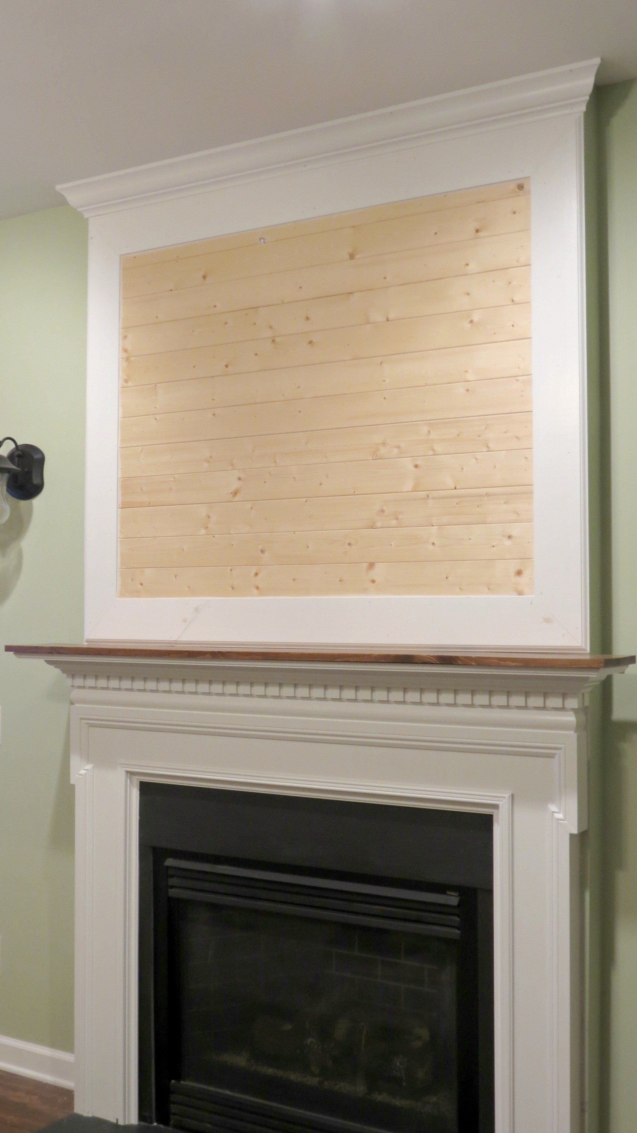 Diy Mantels For Fireplaces A New Fireplace Mantel It Was Worth The Wait
