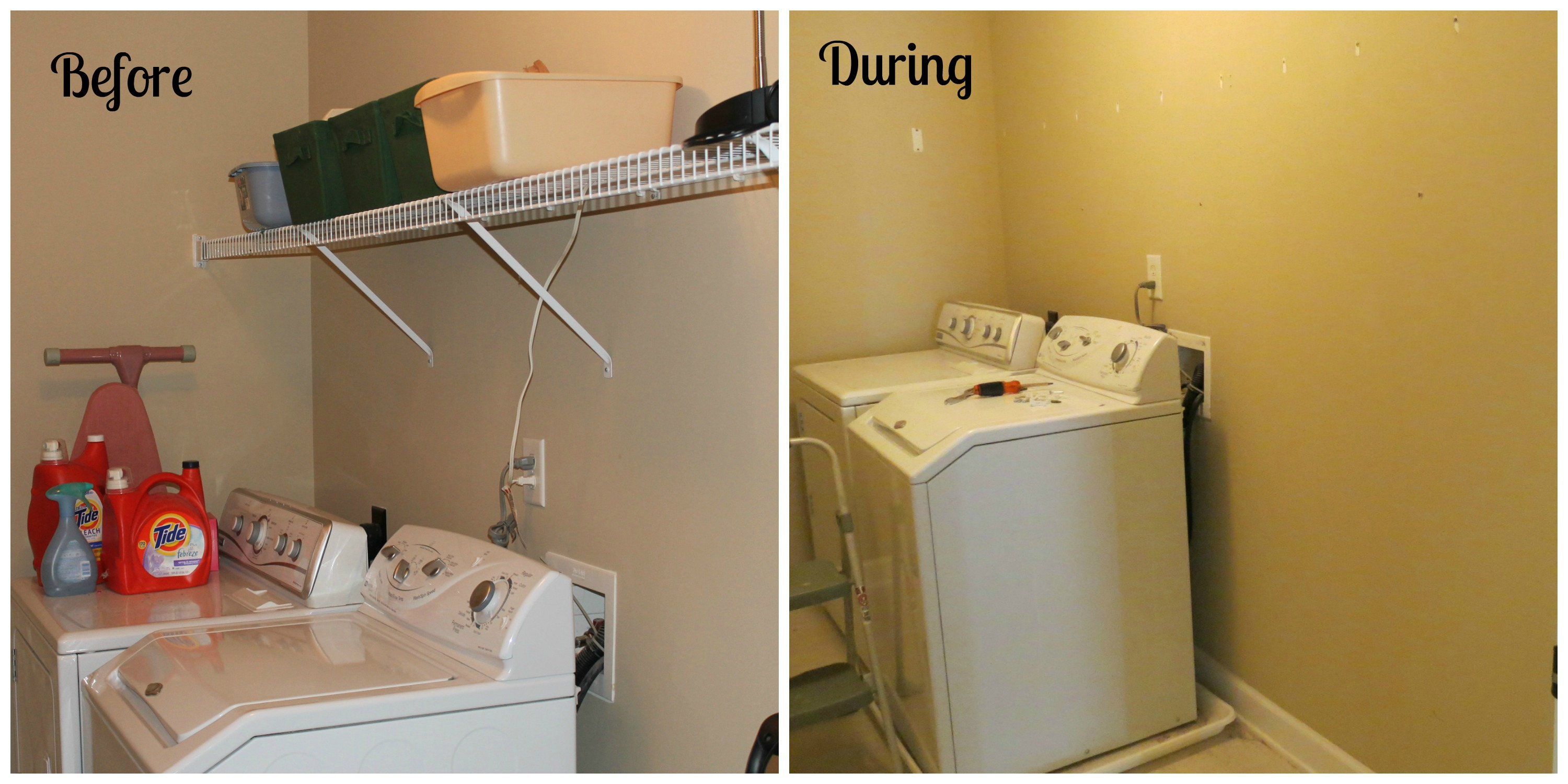 A LAUNDRY ROOM MAKEOVER