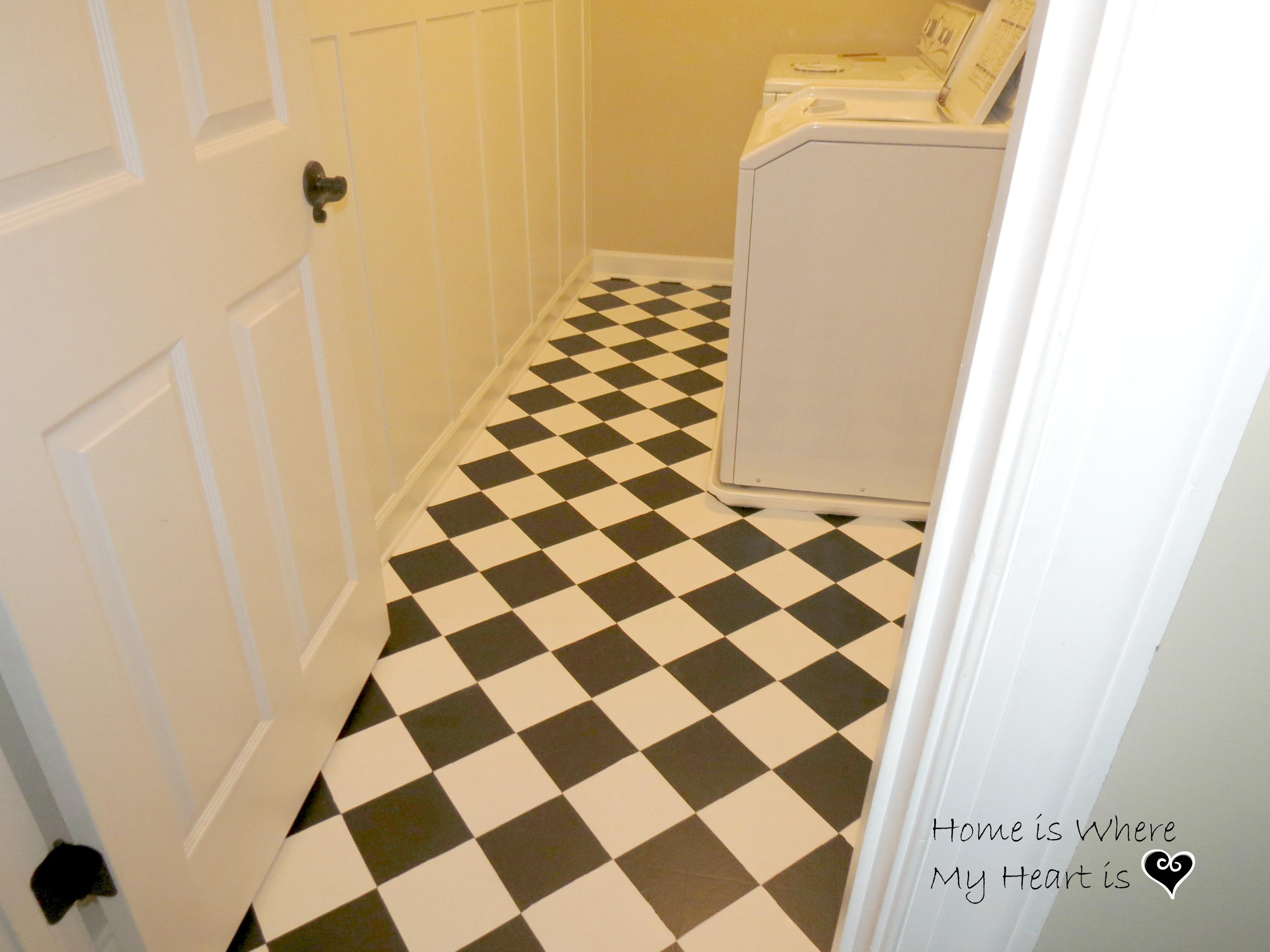 painting linoleum floors. Black Bedroom Furniture Sets. Home Design Ideas