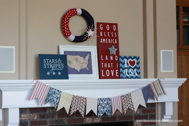 4th+of+July+mantel+2