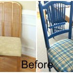 PAINTING DINING ROOM CHAIRS ~ a last minute project