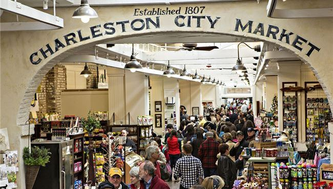 charleston-city-market-at-south-carolina