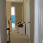 A HALLWAY WITH PERSONALITY ~ and a little board & batten