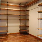 AN ORGANIZED CLOSET ~ trapped in the house