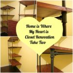 CLOSET RENOVATION ~ Take Two ~ Storage bins